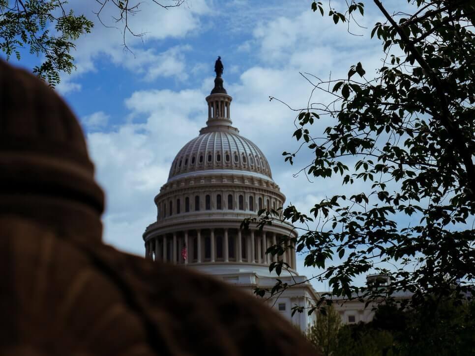 La imagen muestra el Congreso de los Estados Unidos - Este artículo habla acerca de la reforma migratoria propuesta por Joe Biden y su administración