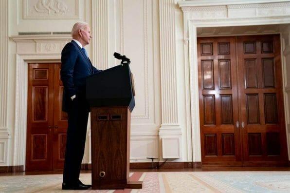 Nota sobre la reforma migratoria 2021 últimas noticias. La imagen es del presidente Joe Biden.